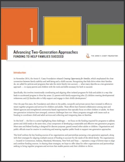 AECF Advancing2 Gen Approaches Brief1 2017 cover