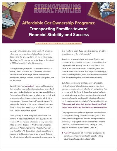 AECF Affordable Car Ownership Programs Cover1