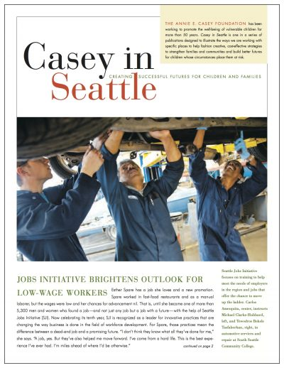 AECF Casey In Seattle Cover 1