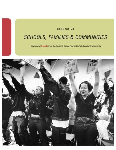 AECF Connecting Schools Familiesand Communities 2007 Cover 2