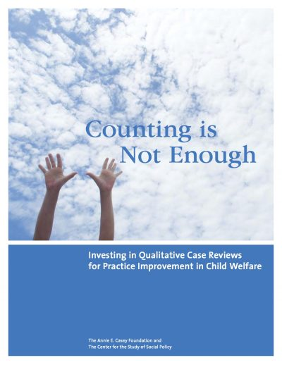 AECF Countingis Not Enough 2011 Cover1