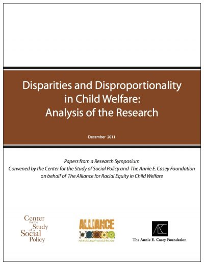 AECF Disparities And Disproportionality In Child Welfare Cover1