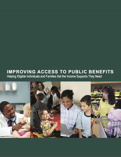 AECF Improving Access To Public Benefits Cover1jpg