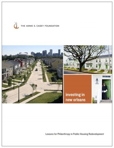 AECF Investingin New Orleans Cover1