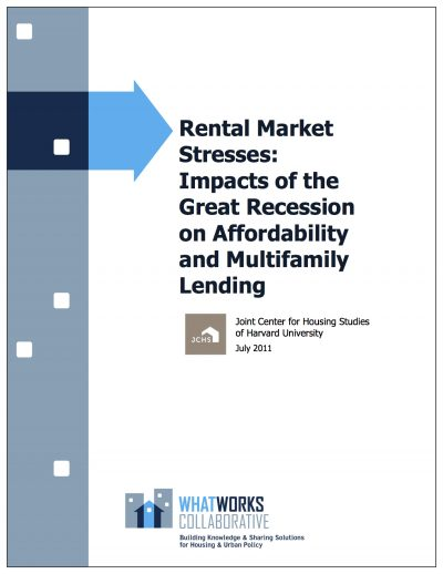 AECF Rental Market Stresses 2011 Cover1