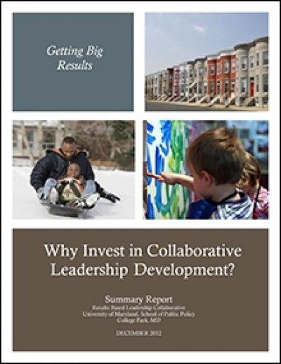 AECF Why Investin Collaborative Leadership Development Thumb 2013