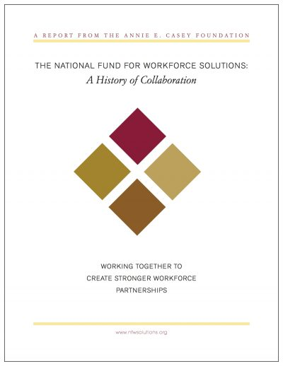 AECF Working Together To Create Better Workforce Solutions 2008 Cover1