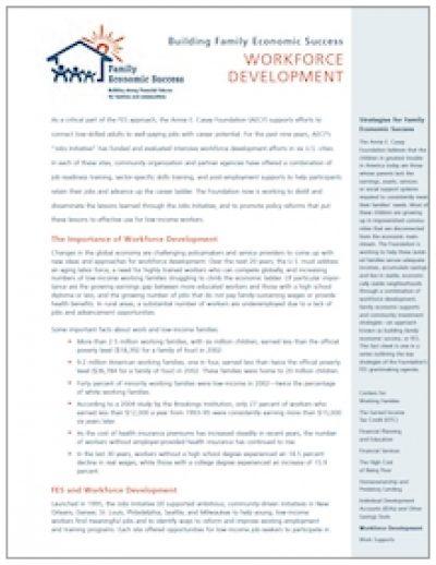 AECF Workforce Development Cover1