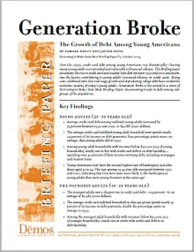 Demos Generation Broke cover