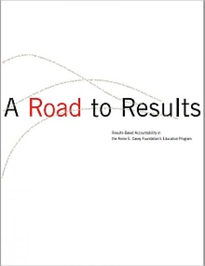 Aecf A Road To Results RBA Education cover