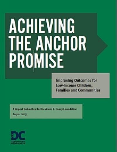 Aecf Achievingthe Anchor Promise cover