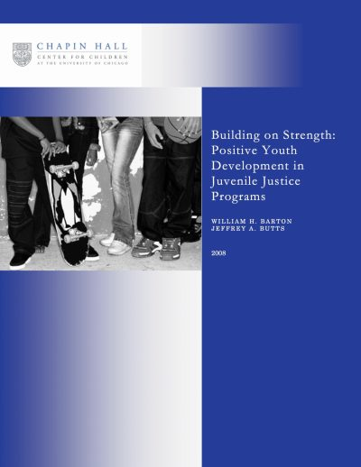 Aecf Building On Strength Positive Youth Development cover