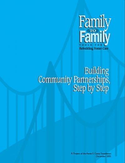 Aecf Buildling Community Partnerships F2 F cover