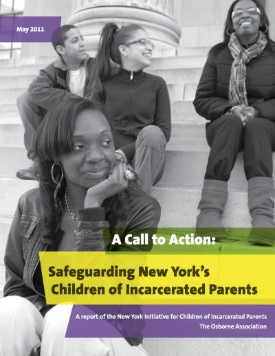 Aecf Call To Action Safeguarding New York Children Incarcerated Parents cover