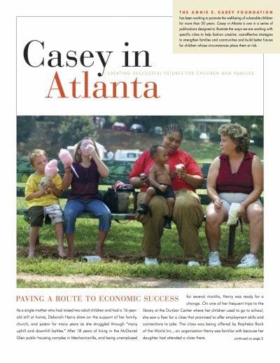 Aecf Casey Atlanta Paving Route Economic Success cover