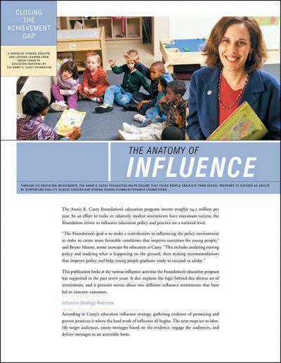 Aecf Closing Achievement Gap Influence 2008 pdf 1