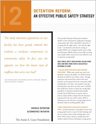 Aecf Detention Reform2 Public Safety Strategy 2007 2