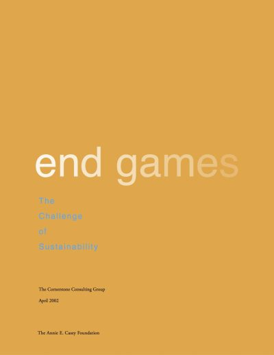 Aecf End Games The Challenge Of Sustainability cover