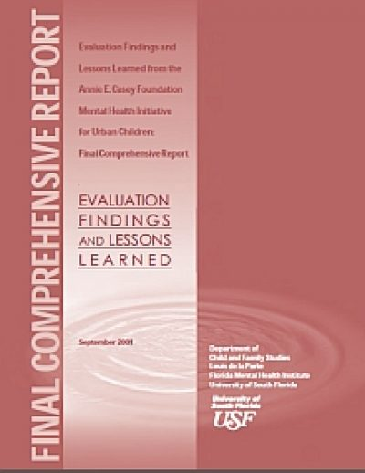 Aecf Eval Lessons Learned AECFMHI Final cover