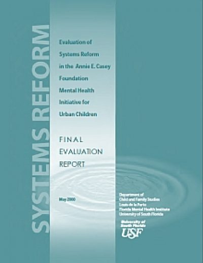 Aecf Eval Systems Reform AECFMHI Final cover