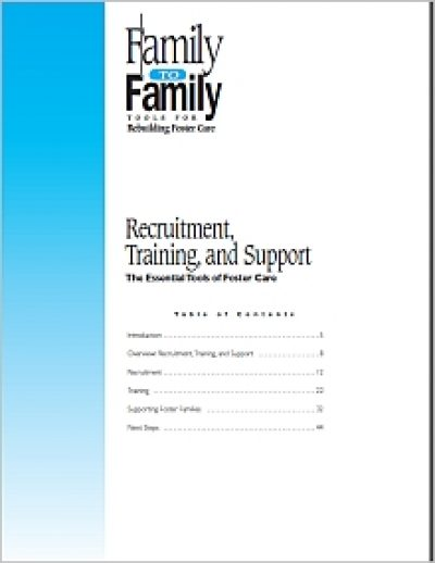 Aecf F2 F Recruitment Training Support Cover