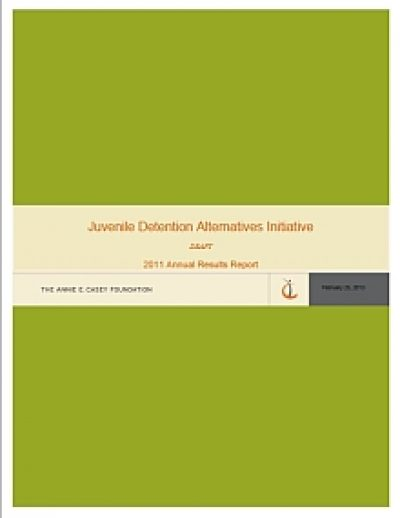 Aecf JDAI Results2011 cover