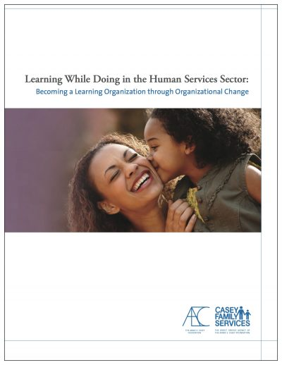 Aecf Learning While Doing Organizational Change Cover1