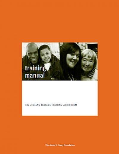 Aecf Lifelong Families Training Manual cover