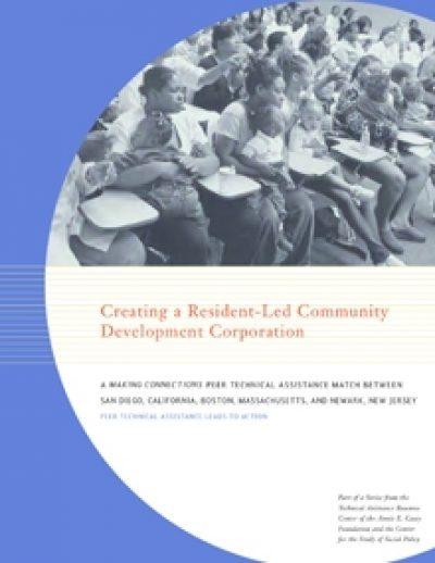 Aecf MC Creating Resident Led Community Development Corporation cover