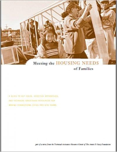 Aecf MC Meeting Housing Needsof Families cover