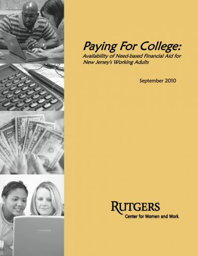 Aecf Paying College Available Need Based Financial Aid New Jersey Working Adults cover