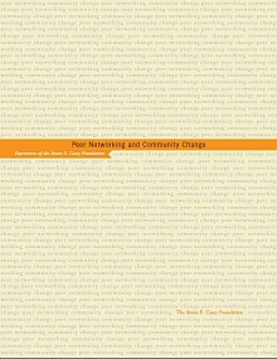 Aecf Peer Networkingand Community Change cover