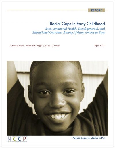 Aecf Racial Gapsin Early Childhood 2011 Cover1
