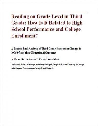 Aecf Readingon Grade Level Long Anal cover