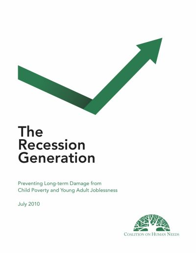 Aecf Recession Generation Preventing Long Term Damage Child Poverty Young Adult Joblessness cover