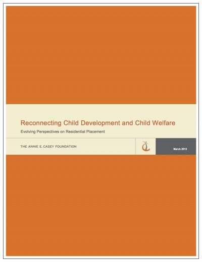 Aecf Reconnecting Child Developmentand Child Welfare Cover1