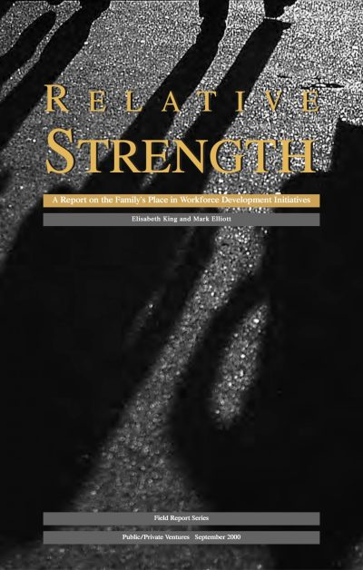 Aecf Relative Strength Report On The Familys Place In Workforce Development Initiatives cover