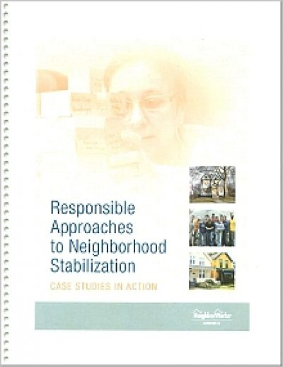 Aecf Responsible Approaches Neighborhood Stabilization cover