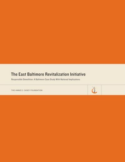Image of cover from the Responsible Demolition: A Baltimore Case Study With National Implications