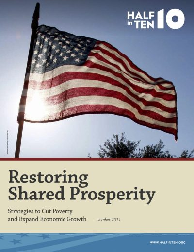 Aecf Restoring Shared Prosperity Strategies To Cut Poverty Expand Economic Growth cover
