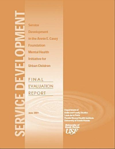 Aecf Service Development AECF Mental Health Final Eval cover