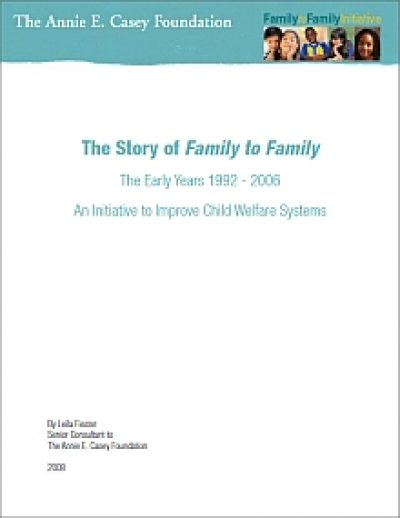Aecf Storyof F2 F Early Years cover