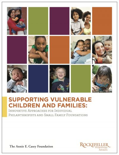 Aecf Supporting Vulnerable Children Families Philanthropy Cover1