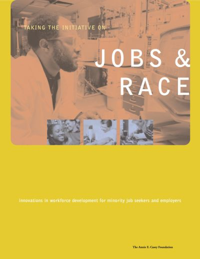 Aecf Taking The Initiative On Jobs And Race cover