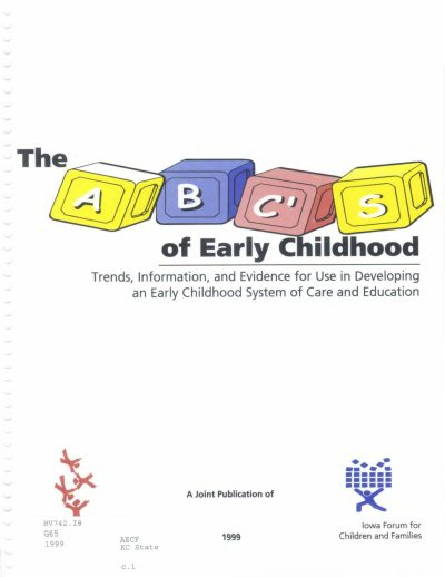 Aecf The AB Cs Early Childhood Trends Information Evidence cover