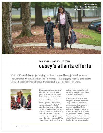 Aecf Two Generations Benefit Atlanta Cover1
