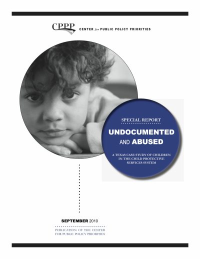 Aecf Undocumented Abused Texas Case Study Children Child Protective Services cover