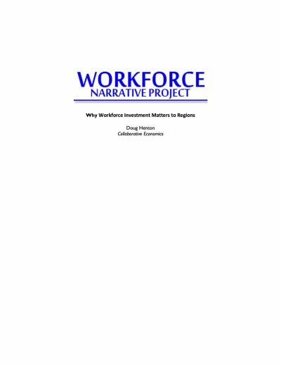Aecf Why Workforce Investment Matters To Regions cover