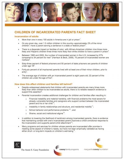 Aecf childrenofincarceratedparentsfactsheet Cover1