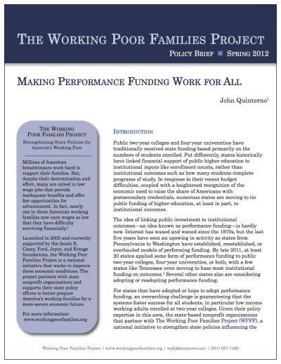Aecf makingperformancefundingworkpolicybrief Cover1